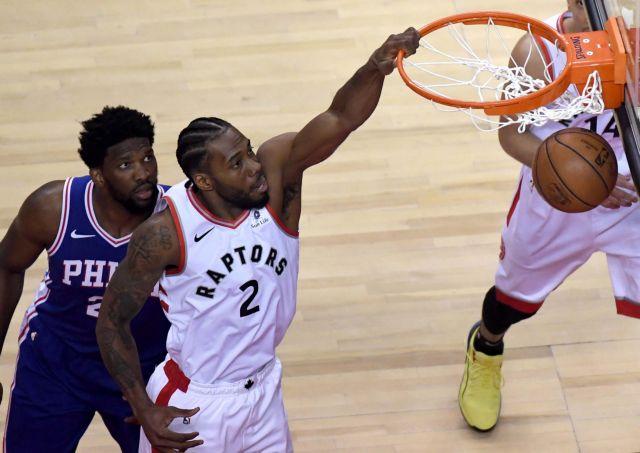 NBA: Λέοναρντ και Σιάκαμ «σκότωσαν» του 76ερς και πήραν προβάδισμα   tanea.gr