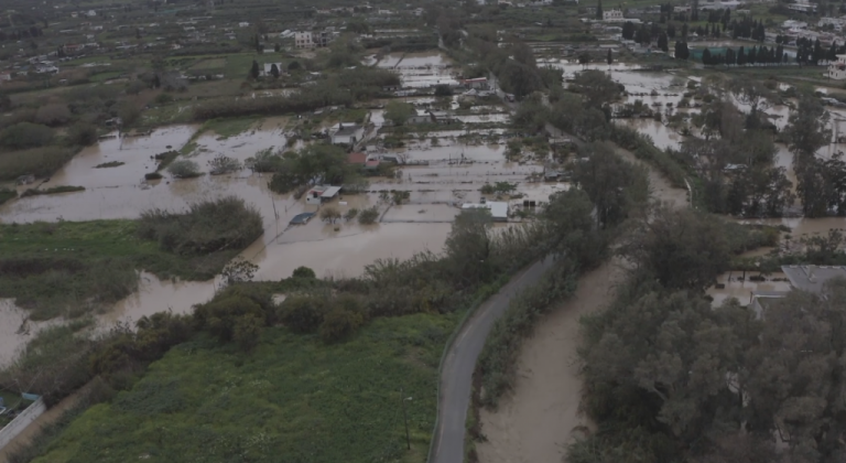 Συγκλονιστικό βίντεο : Εικόνες καταστροφής στην πλημμυρισμένη Σητεία | tanea.gr