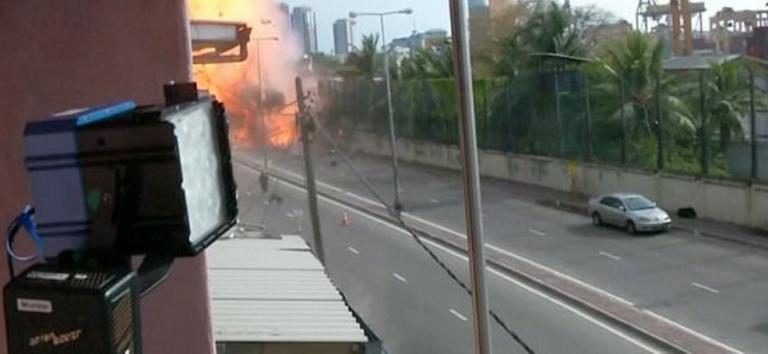 Σρι Λάνκα: Εκρηκτικά και ένα λάβαρο του ΙΚ βρέθηκαν στο σπίτι των βομβιστών | tanea.gr
