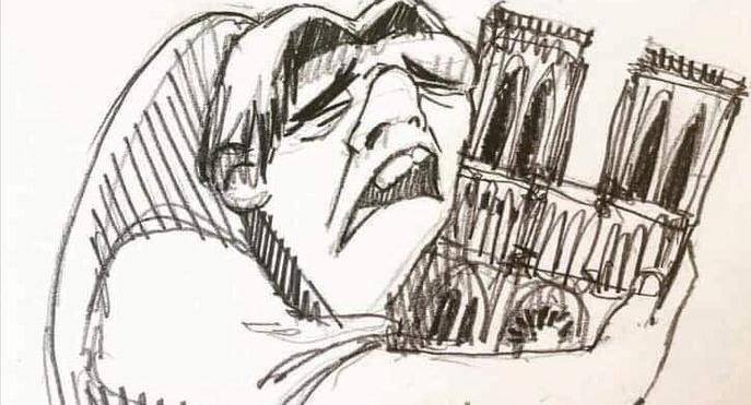 Ο Κουασιμόδος αγκαλιάζει την Παναγία των Παρισίων | tanea.gr