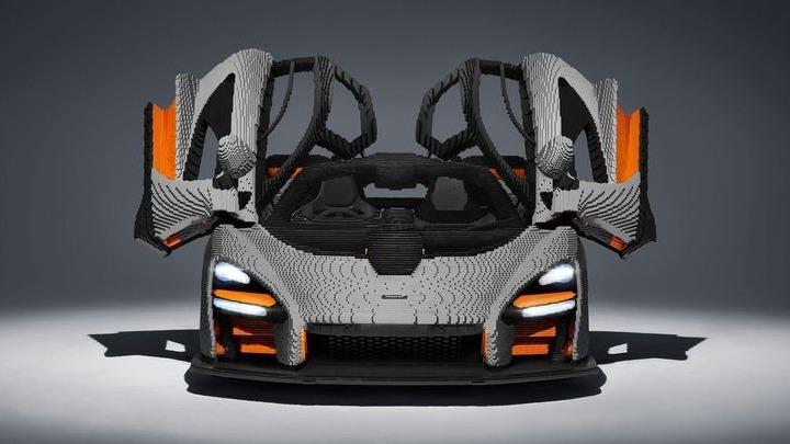 Μια McLaren από κυβάκια LEGO σε φυσικό μέγεθος | tanea.gr