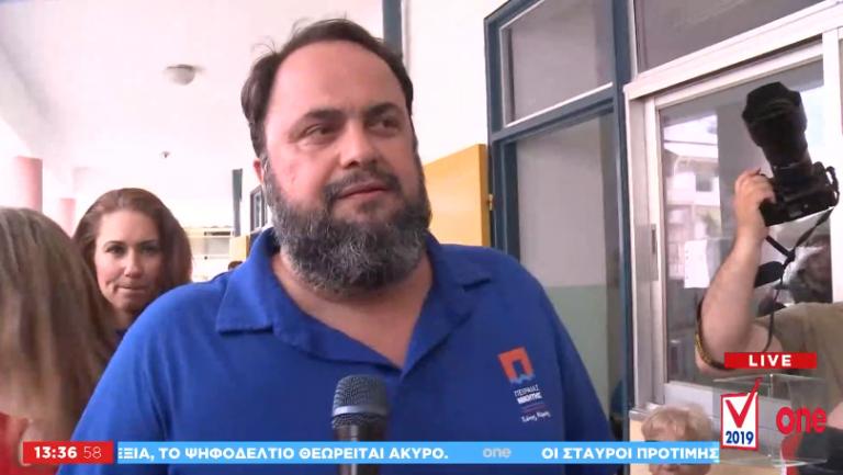Βαγγέλης Μαρινάκης: Σήμερα ο Πειραιάς θα είναι ο μεγάλος νικητής | tanea.gr