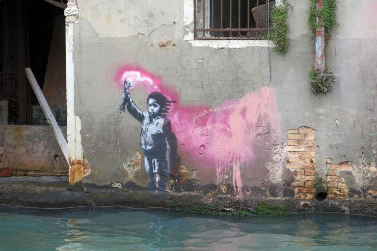 Ιταλία: Γκράφιτι του Μπάνκσι ίσως να βρέθηκε στη Βενετία | tanea.gr