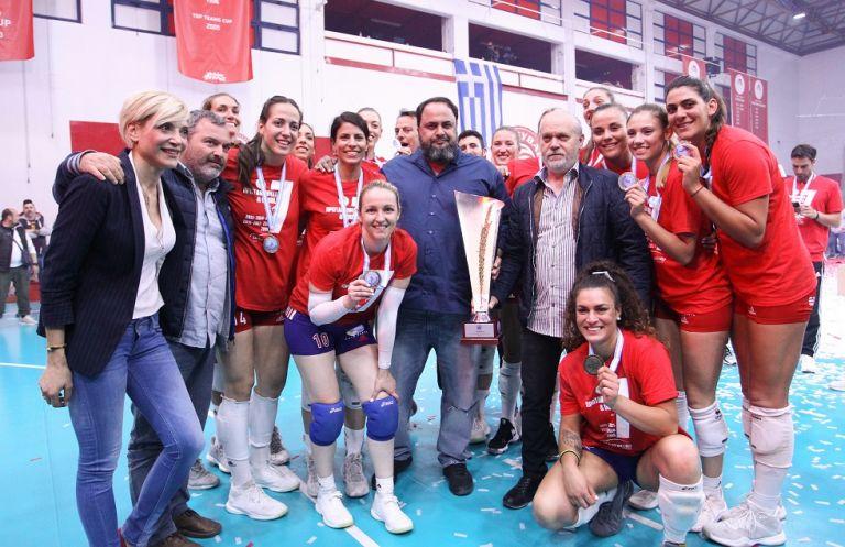 Βαγγέλης Μαρινάκης: «Ο Ολυμπιακός δεν σταματά, θα συνεχίζει στις μεγάλες νίκες» | tanea.gr