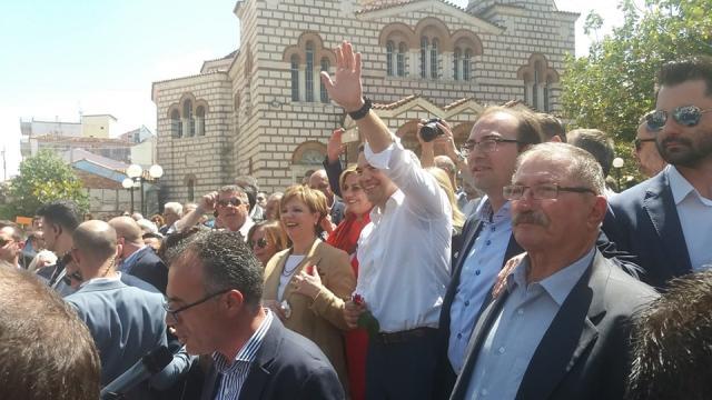 Πως περιγράφει το Αθηναϊκό Πρακτορείο την επίσκεψη Τσίπρα στην Άρτα | tanea.gr