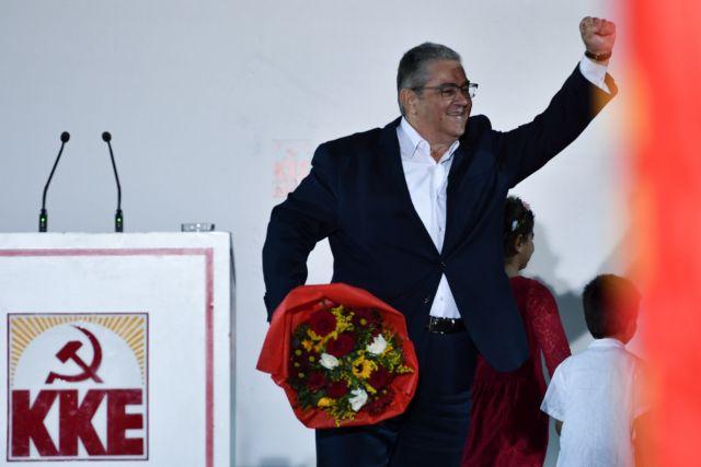 Κουτσούμπας: «Προχωράμε για μια μεγάλη νίκη του λαού με ισχυρό ΚΚΕ παντού» | tanea.gr
