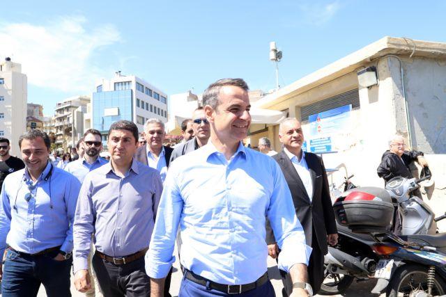 «Δεν πιστεύω να τα παίρνετε ΣΥΡΙΖΑ…» – Η αστεία ατάκα Μητσοτάκη σε κουρείο   tanea.gr