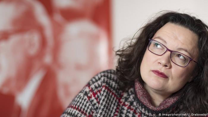 Γερμανία: «Οδυνηρά αποτελέσματα για το SPD», λέει η Aντρέα Νάλες | tanea.gr