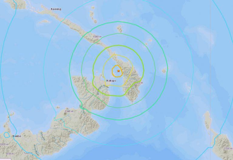 Σεισμός 7,5 Ρίχτερ στην Παπούα Νέα Γουινέα   tanea.gr