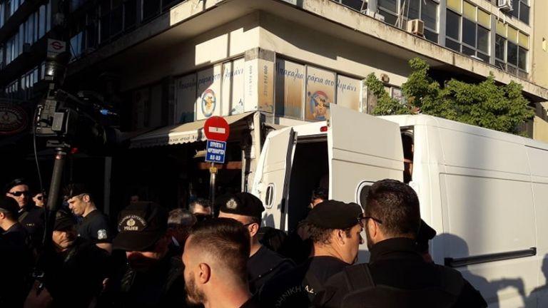 Συλλήψεις και προσαγωγές πριν την ομιλία Τσίπρα   tanea.gr