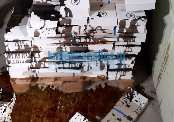 Καλλιθέα: Αγνωστοι κατέστρεψαν με αντισηπτικό τα ψηφοδέλτια της Χρυσής Αυγής | tanea.gr