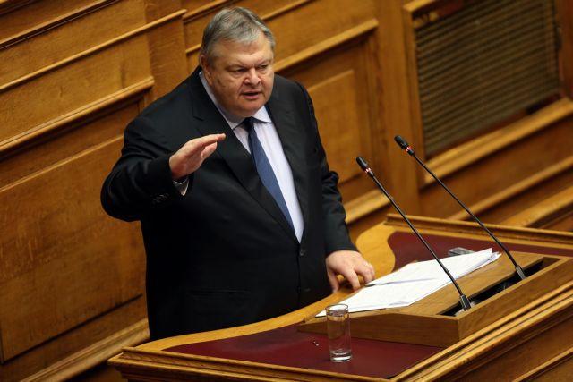 Βενιζέλος : Στρατηγική ήττα του ΣΥΡΙΖΑ | tanea.gr