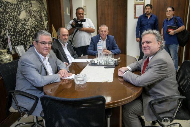 Συνάντηση Κουτσούμπα – Κατρούγκαλου για τις εξελίξεις στα ελληνοτουρκικά | tanea.gr
