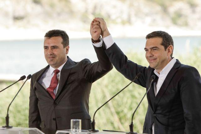 Ένας χρόνος από τη Συμφωνία των Πρεσπών   tanea.gr