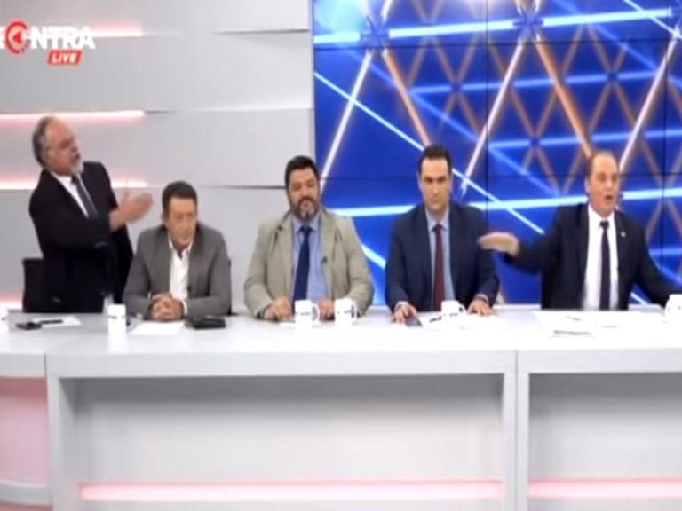 Αγριος καβγάς on air Βελόπουλου με τον δημοσιογράφο Θ. Λυρτσογιάννη | tanea.gr