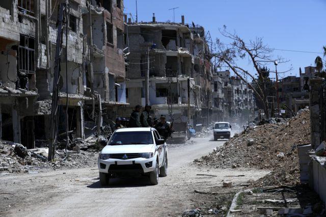 Οκτώ τραυματίες από την έκρηξη σε αποθήκη πυρομαχικών στη Δαμασκό   tanea.gr