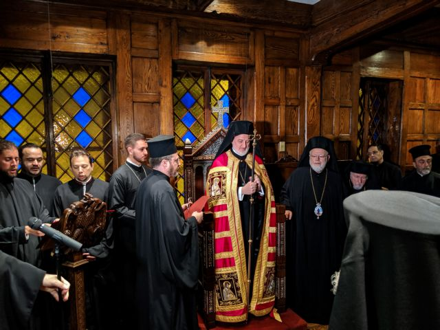 New era for Greek Orthodox Church in America, Elpidoforos enthroned | tanea.gr