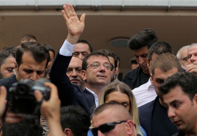 Κωνσταντινούπολη : Μήνυμα - ράπισμα στον Σουλτάνο,  νικητής ξανά ο Ιμάμογλου | tanea.gr