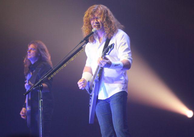 Ο τραγουδιστής των Megadeth ανακοίνωσε ότι πάσχει από καρκίνο | tanea.gr