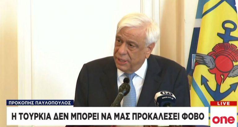 Παυλόπουλος σε Αγκυρα: Οι Ενοπλες Δυνάμεις μας θα επιβάλουν το διεθνές δίκαιο   tanea.gr