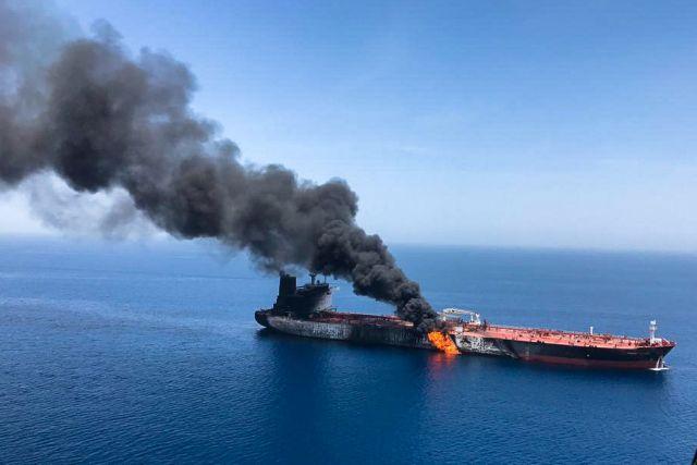 Κόλπος του Ομάν: Επιφυλάξεις από ΕΕ για την απόδοση ευθυνών | tanea.gr