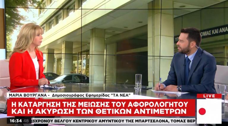 Αντιδρά η Κομισιόν στην κατάργηση της μείωσης του αφορολογήτου | tanea.gr