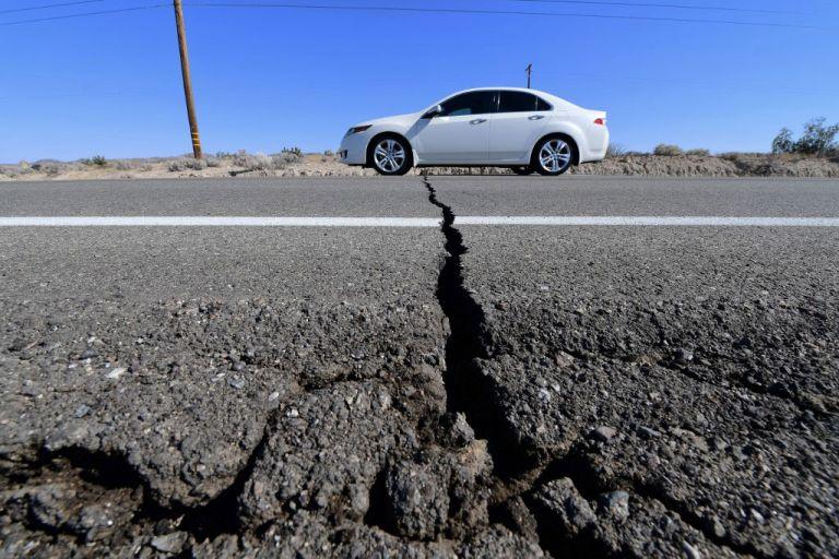 Ο σεισμός στην Καλιφόρνια άλλαξε την τοπογραφία της περιοχής | tanea.gr