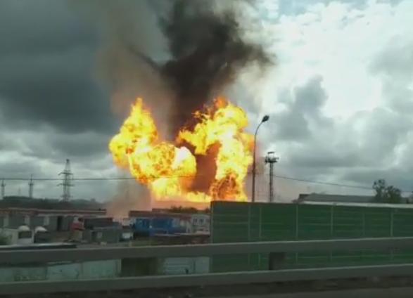 Κόλαση φωτιάς σε θερμοηλεκτρικό σταθμό στη Μόσχα με 11 τραυματίες | tanea.gr