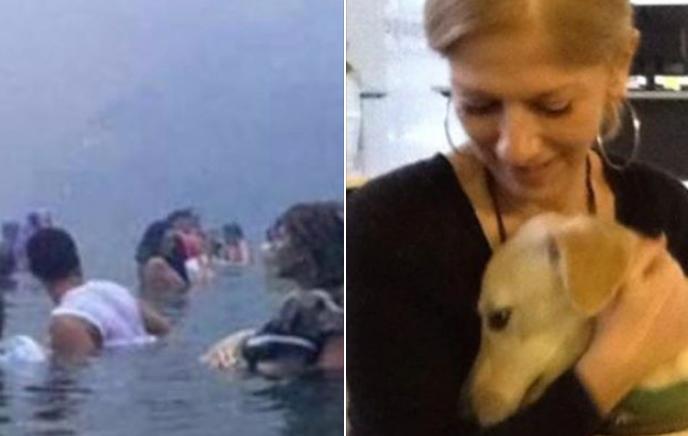 Μάτι: Η συγκινητική φωτογραφία της κυρίας με το σκυλάκι ένα χρόνο μετά την τραγωδία | tanea.gr