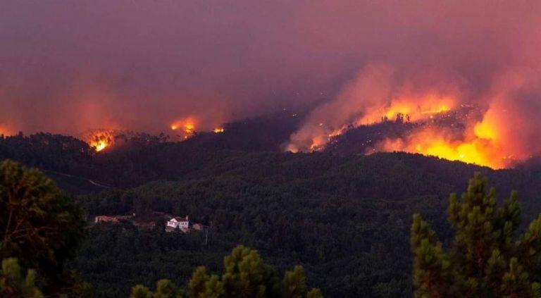 Σε πύρινο κλοιό η Πορτογαλία: Πάνω από 900 πυροσβέστες στη μάχη | tanea.gr