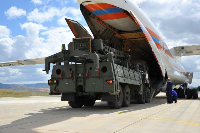 Ολοκληρώθηκε η πρώτη φάση παράδοσης των S-400 στην Τουρκία | tanea.gr