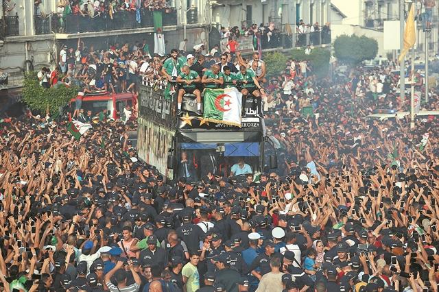 Κυπελλούχος Αφρικής ξανά η Αλγερία | tanea.gr