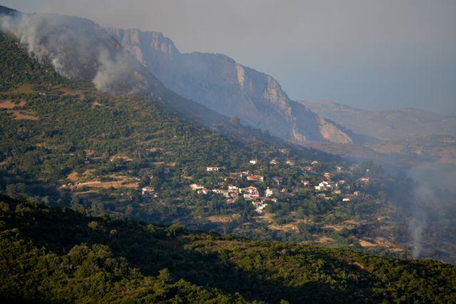 Μία σύλληψη για τη φωτιά στην Εύβοια - 64χρονος εκαιγε ξερά χόρτα έξω από το σπίτι του | tanea.gr