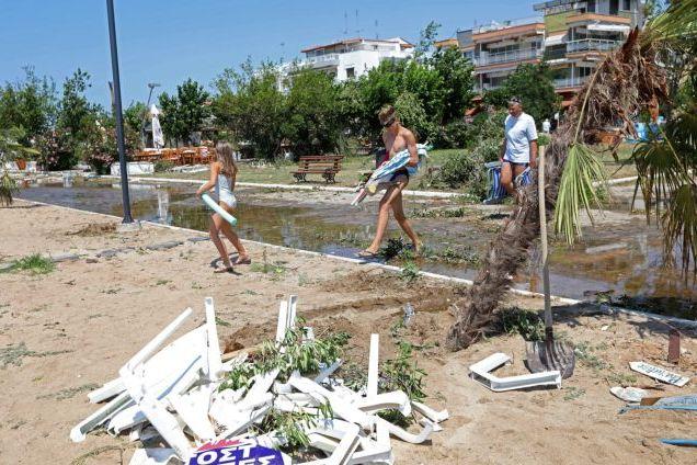 Πλήρης αποκατάσταση των ζημιών μέχρι το βράδυ   tanea.gr