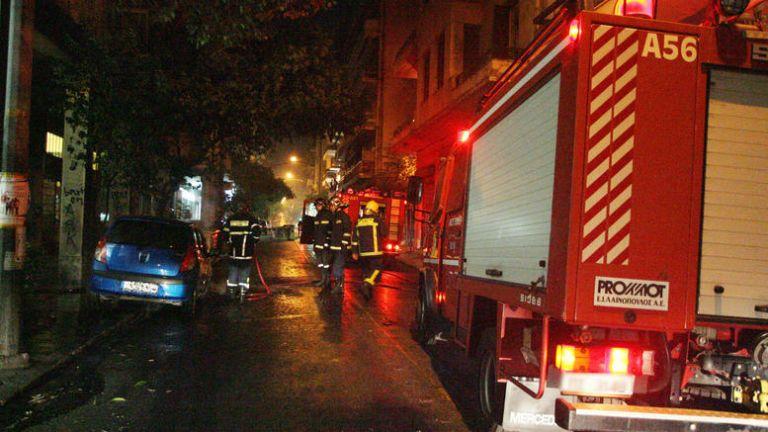 Κρήτη: Φωτιά σε κτίριο στο κέντρο του Ηρακλείου | tanea.gr