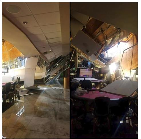 Κατέρρευσε οροφή καζίνο στην Καλιφόρνια | tanea.gr