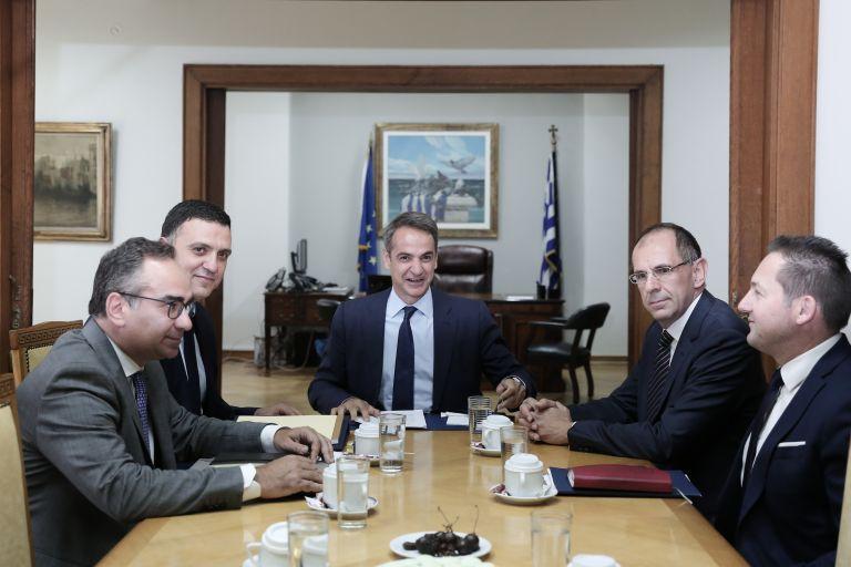 Στο υπουργείο Υγείας ο Κυριάκος Μητσοτάκης | tanea.gr