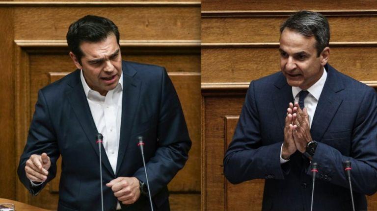 Ξεκινά από σήμερα η τριήμερη κόντρα Μητσοτάκη- Τσίπρα στη Βουλή | tanea.gr