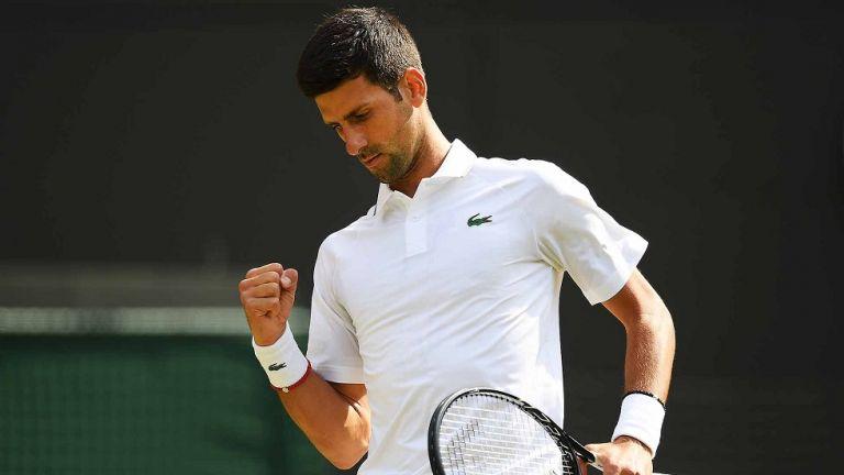 Wimbledon : Με επίδειξη ισχύος στα προημιτελικά ο Τζόκοβιτς   tanea.gr
