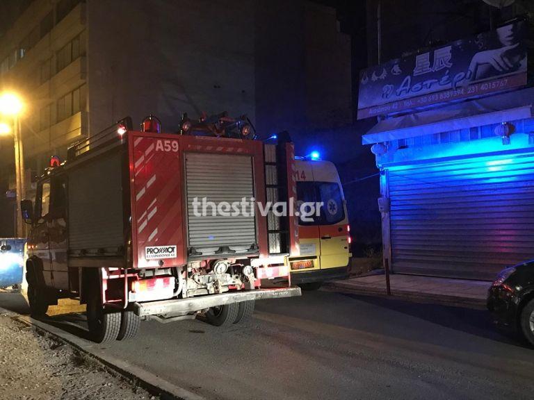 Θεσσαλονίκη: Πτώση γυναίκας σε φωταγωγό | tanea.gr