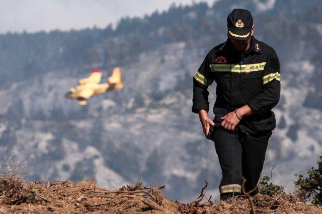 Πολύ υψηλός ο κίνδυνος πυρκαγιάς σήμερα | tanea.gr