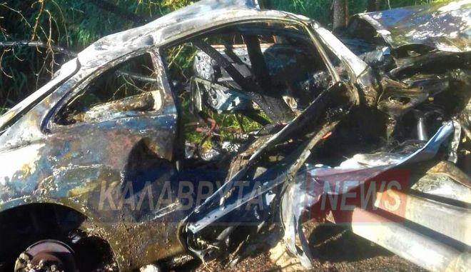 Τροχαίο – σοκ: Εξερράγη όχημα μετά τον απεγκλωβισμό οδηγού | tanea.gr
