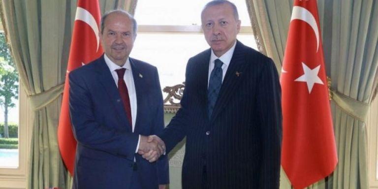 Συνάντηση Ερντογάν με την κυβέρνηση των κατεχομένων | tanea.gr