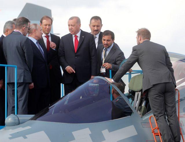 Οι Ρώσοι παρουσίασαν στον Εντογάν «αόρατο» ρωσικό μαχητικό Su-57 | tanea.gr