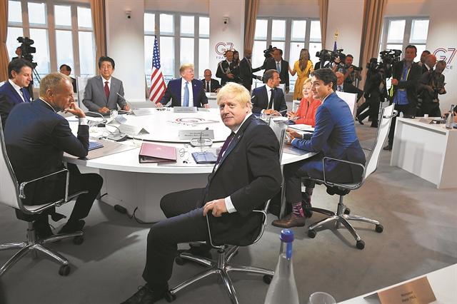 Διεύρυνση του G7 σε... G11 θέλει τώρα ο Τραμπ | tanea.gr