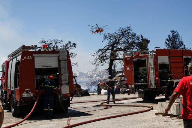 Μεγάλη φωτιά στην περιφερειακή Αιγάλεω, στον Ασπρόπυργο | tanea.gr