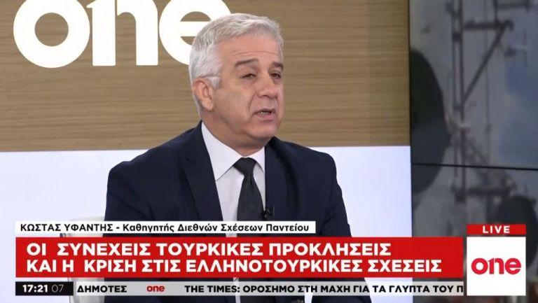 Κ. Υφαντής στο One Channel: Τύχη η σύμπτωση ελληνικών, κυπριακών και γαλλικών συμφερόντων | tanea.gr