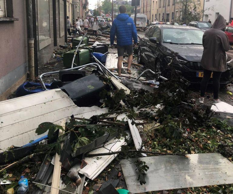 Ανεμοστρόβιλος στο Λουξεμβούργο προκάλεσε εκτεταμένες ζημιές | tanea.gr