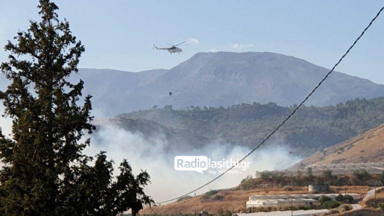 Φωτιά στον Νέο Μύρτο Ιεράπετρας   tanea.gr
