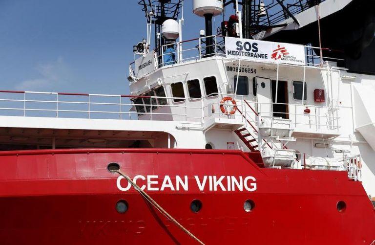 Τελειώνουν τα τρόφιμα στο Ocean Viking με 356 μετανάστες | tanea.gr